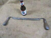 "Lrg Drawknife,14"" blade,E.Broad & Sons,Fixed,USA~GD+ 😎😎😎#DK1.24.21"