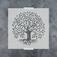 Tree of Life Stencil - Reusable Stencil of Tree of Life in Small & Large Sizes