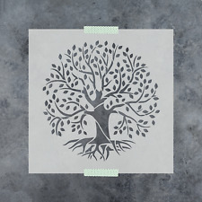 Tree of Life Stencil - Durable & Reusable Mylar Stencils