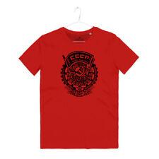 Maglietta Fedeli Alla Linea Musica Punk Rock Sovietico Stella Rossa CCCP T-shirt