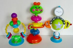 High Chair Suction Toy Bundle