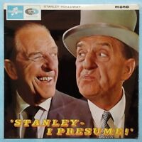 STANLEY HOLLOWAY ~ STANLEY, I PRESUME ~ 1965 UK 12-TRACK MONO VINYL LP RECORD