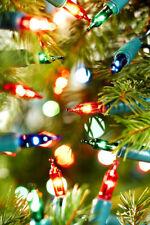 Noma 40 Classic Shadeless Xmas Fairy Mini Lights Traditional Multicolour Vintage