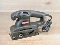 Pre-owned Tested Craftsman  #315-116310 1.8AMP 12,000-OPM 1/3 Sheet  Sander