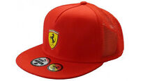 AUTHENTIC PUMA SCUDERIA FERRARI 2014 KIDS RED FLAT BRIM SCUDETTO MESH CAP