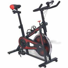 Exercise Spin Bike Belt Driven Excersize Spinning Cardio Machine Pulse Sensors..