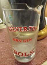 Silver Top London Dry Gin Lucas Bois Bolts Glass Pitcher