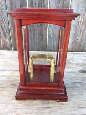 Antique Original Gustav Becker Cherry Wood 400 Day Disk Torsion Clock Case