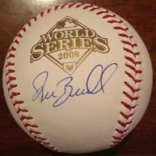 Pat Burrell Autographed 2008 World Series Baseball