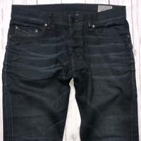 Mens DIESEL Tepphar Jeans W32 L32 Blue Slim Carrot Wash 0666T_STRETCH