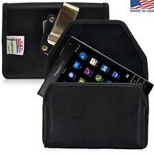 Turtleback Blackberry Passport Phone Leather Pouch Holster Case Metal Belt Clip