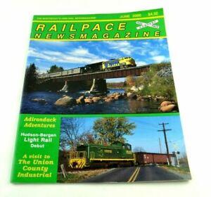 Railpace News Magazine Newsmagazine Train Illustrated Pictures Info June 2000