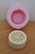 3D TYRE / WHEEL 003 SILICONE MOULD FOR CAKE TOPPERS, CHOCOLATE, CLAY ETC