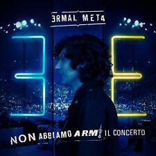Ermal Meta Non Abbiamo Armi Il Concerto Live 2 CD Nuovo 2019 Best Of con inediti