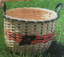 Basket Weaving Pattern Bucket of Treats by Jennifer Rhodes