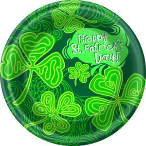 St. Patrick's Day Shamrocks Everywhere Dinner Plates 8pk