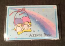 RARE Sanrio Japan Little Twin Stars Vintage 1976 Address Book