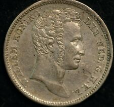 Netherlands East Indies 1/4 Gulden 1840 KM#301.1 (T14)