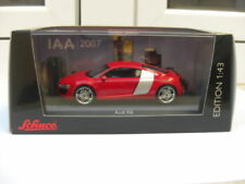 Audi R8 coupe IAA 2007 show car red Schuco MIB 1:43 A5 A8 100 200 GREAT RARE
