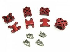 Small Parts CNC Red Immersion RC Vortex Aluminum Motor Mount Set NC0268