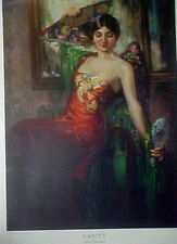 "Spanish Dancer Art Print ""Vanity"" by Jackman"