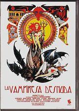 LA VAMPIRESA DESNUDA de Jean Rollin. AGOTADO en cualquier formato.