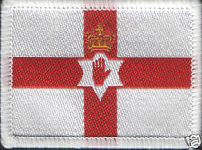 Northern Ireland Flag Woven Badge Patch 6cm x 4.5cm