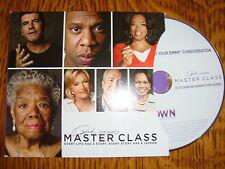 OPRAH PRESENTS MASTER CLASS EMMY DVD 2EPISODES DIANE SAWYER MAYA ANGELOU