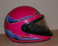 Vintage Polaris Indy by Bell Full Face Snowmobile Helmet Size Large
