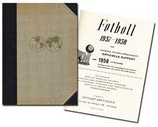 world Cup Fußball Weltmeisterschaft 1958. Offizieller Bericht Official Report