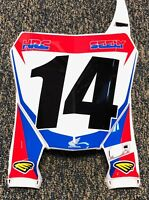 Cole Seely Replica HRC Honda Supercross Front Number Plate #14 Unsigned 2018