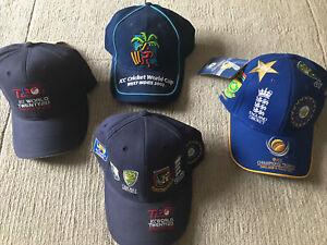 Cricket World Cup Baseball Caps Bundle