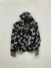 Under Armour UA Women's Loose Fit Graphic Hoodie - Small - Grey/Black - New