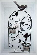 Wand-Teelichthalter VIZENCA Wandleuchter Teelicht Kerzenhalter Kerzenständer NEU