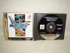 GRADIUS DELUXE PACK Sega Saturn Konami Japan Import Game ss