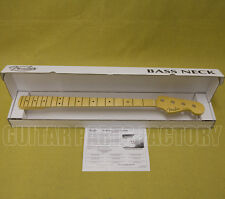 099-3702-921 Fender USA Jazz Bass® Neck Maple C Fingerboard 9.5 Radius Med Jumbo