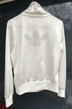 Rare Vintage Adidas Limited Edition 40 Years Of Trefoil Jacket Small White