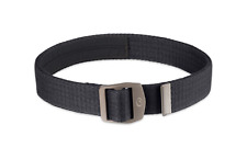 Lifeventure Canvas Belt - Security Money Belt with Hidden Zip Pocket - Black
