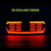 Neu LED Motorrad Rücklicht Blinker Bremslicht Heckleuchte Nummernschild Lampe