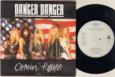 "DANGER DANGER Comin Home 7"" Poster Sleeve, Orig 1992 Ltd Edition, B/W Crazy Nite"