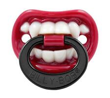 "Dummy Pacifier Billy Bob /""T Rex/"" silicone orthodontic /""NUK/"" style soother"