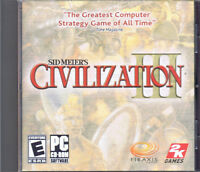 Civilization III (PC, 2001, Firaxis Studios)