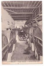 CPA ALGERIE - KOUBA BADJRAH - CLOS GRELLET Intérieur d'une cave - Tonneau de vin