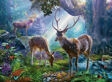 Ravensburger - 500 PIECE JIGSAW PUZZLE - Deer In The Wild