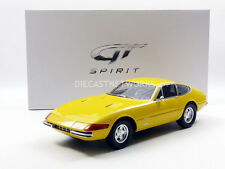 GT Spirit Ferrari 365 GTB/4 Daytona Yellow LE of 300 1/12 Scale New! In Stock!