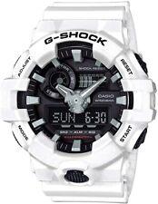New Casio G-Shock GA700-7 Super Illuminator Ana-Digital 3D White Men's Watch