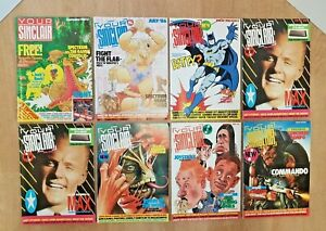 Vintage 1980s YOUR SINCLAIR MAGAZINES Issue #1 - Run of  1 - 5 plus 7 & 21