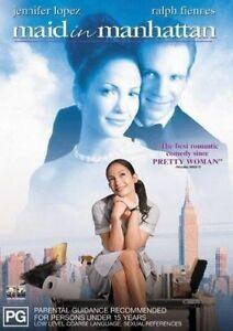 Maid In Manhattan (DVD Region 4) - Jennifer Lopez, Ralph Fiennes, Stanley Tucci