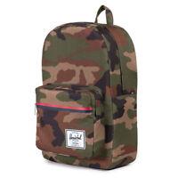 HERSCHEL SUPPLY CO. Men's Pop Quiz 600D Poly Backpack Bag Woodland Camo Green