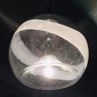 🔴 lampadario SOTHIS design Ettore Fantasia e Gino Poli vetro Murano anni 70